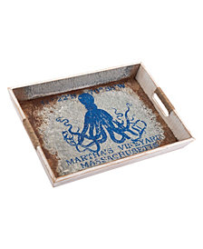 Nautical Tray Lg Blue