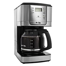 12-Cup Programmable Coffee Maker, Stainless Steel