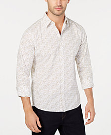 Michael Kors Men's Micro Square-Print Shirt