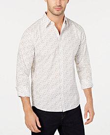 Michael Kors Men's Micro Square-Print Shirt