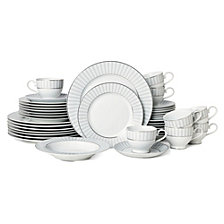 Mikasa Adrian Grey 40-Pc. Dinnerware Set, Service for 8