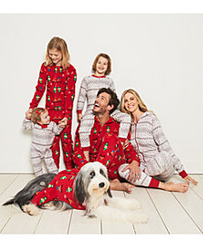 Matching Family Pajama Winter Fairisle Mix and Match, Created for Macy's