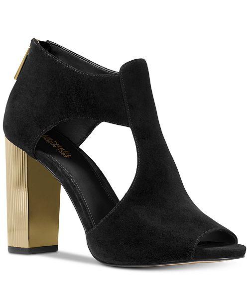 4a0ec90809d Michael Kors Paloma Shooties & Reviews - Boots - Shoes - Macy's