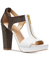 2b8fa441f1e MICHAEL Michael Kors Berkley T-Strap Platform Dress Sandals