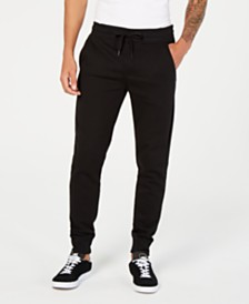 Calvin Klein Jeans Men's Back Pocket Monogram Sweatpants,Created for Macy's