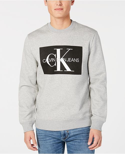 calvin klein jeans sweatshirt schwarz herren