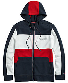 Tommy Hilfiger Adaptive Men's Cunningham Hoodie with Magnetic Zipper