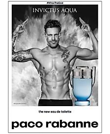 Paco Rabanne Men's Invictus Aqua Eau de Toilette Fragrance Collection
