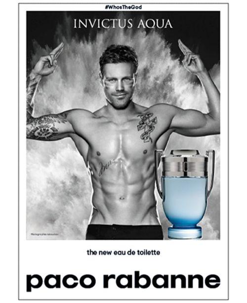 Paco Rabanne Mens Invictus Aqua 34 Oz Reviews All Perfume