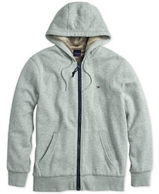 Tommy Hilfiger Adaptive Men's Sasha Zip Hoodie with Magnetic Zipper