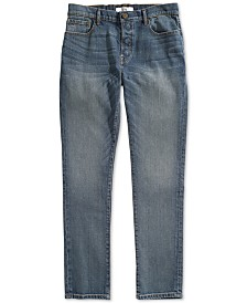 Tommy Hilfiger Adaptive Men's Straight Fit Jeans with Magnetic Fly