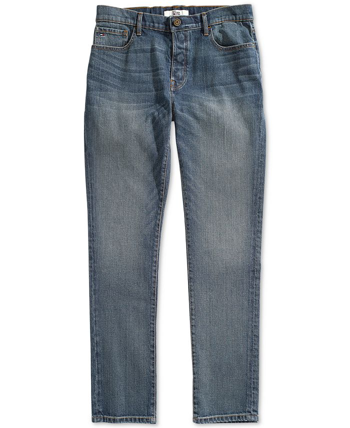 Tommy Hilfiger - Men's Straight Fit Jeans from The Adaptive Collection