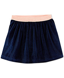 Carter's Toddler Girls Pleated Velvet Skirt