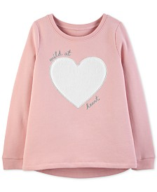 Carter's Little & Big Girls Wild at Heart Top