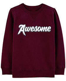 Carter's Little & Big Boys Awesome Graphic Sweatshirt
