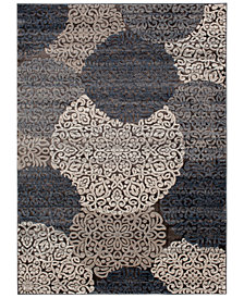 "Trisha Yearwood Home Enjoy Mallory Chalk/Nightfall 5' x 7'6"" Area Rug"