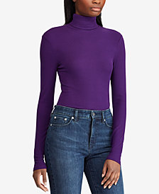 Lauren Ralph Lauren Knit Turtleneck Sweater