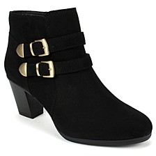 Frea Buckle Booties