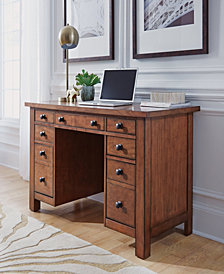 Home Styles Tahoe Executive Pedestal Desk