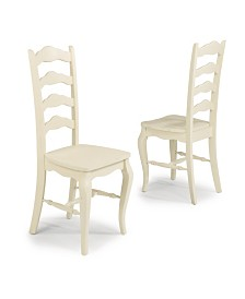 Home Styles Seaside Lodge Pair of Dining Chairs