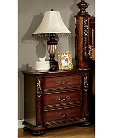 Perrena 3-drawer Nightstand