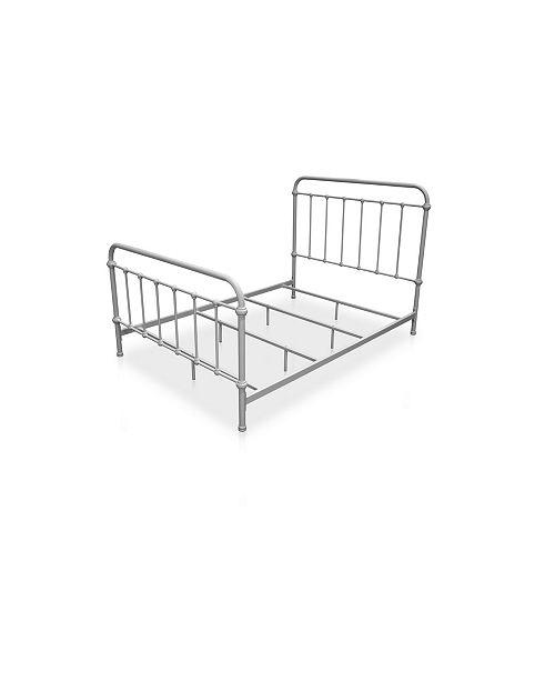 Furniture of America Celinda Twin Metal Spindle Bed