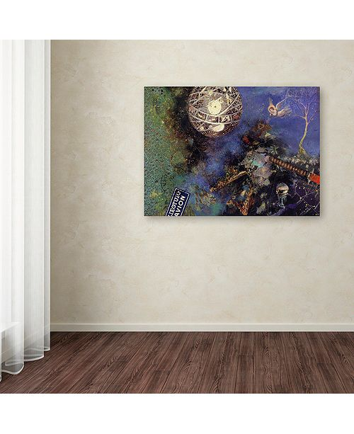 "Trademark Global Nick Bantock 'Night Angel' Canvas Art, 35"" x 47"""