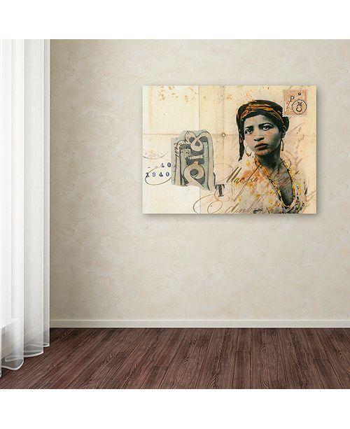 "Trademark Global Nick Bantock 'Ronda Maur' Canvas Art, 35"" x 47"""