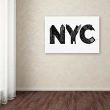 "Robert Farkas 'NYC' Canvas Art, 12"" x 19"""