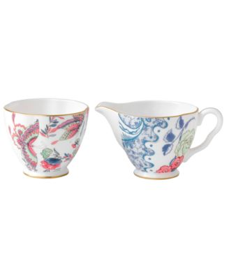 Butterfly Bloom Sugar and Creamer