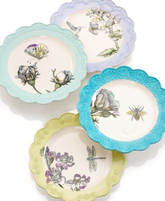 CLOSEOUT! Edie Rose by Rachel Bilson Dinnerware Bloom Accent Salad Plate  sc 1 st  Macy\u0027s & CLOSEOUT! Edie Rose by Rachel Bilson Dinnerware Bloom Accent ...