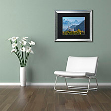 """Michael Blanchette Photography 'Sublime Vista' Matted Framed Art, 16"""" x 20"""""""