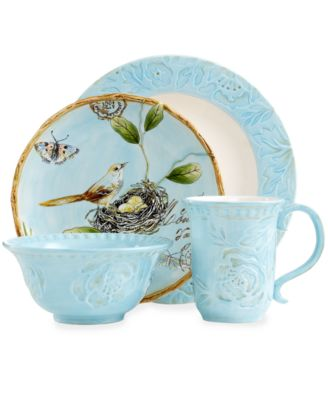 Fitz and Floyd Dinnerware Toulouse Blue Collection  sc 1 st  Macy\u0027s & Fitz and Floyd Dinnerware Toulouse Blue Collection - Dinnerware ...