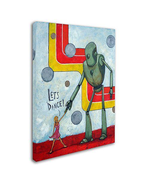 """Trademark Global Craig Snodgrass 'Let's Dance' Canvas Art, 24"""" x 32"""""""