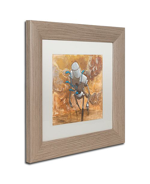 """Trademark Global Craig Snodgrass 'The Trooper' Matted Framed Art, 11"""" x 11"""""""