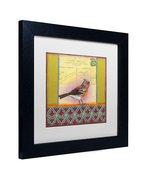 """Trademark Global Rachel Paxton 'Small Bird 231' Matted Framed Art, 11"""" x 11"""""""