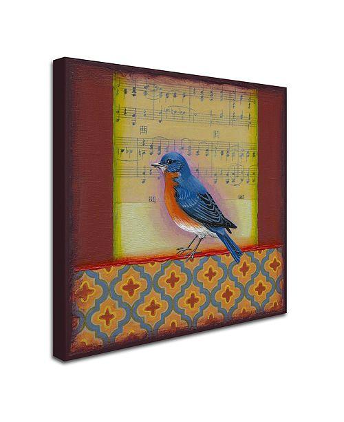 """Trademark Global Rachel Paxton 'Bluebird' Canvas Art, 35"""" x 35"""""""