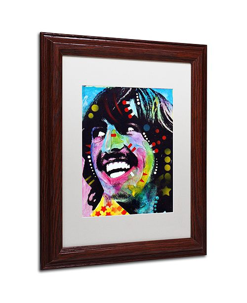 "Trademark Global Dean Russo 'George Harrison' Matted Framed Art, 11"" x 14"""