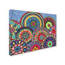 Hello Angel 'Mandala Parade' Canvas Art