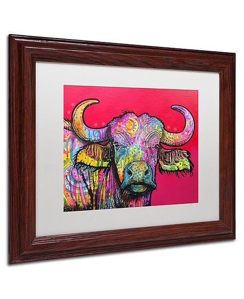 """Trademark Global Dean Russo 'Wildebeest' Matted Framed Art, 11"""" x 14"""""""