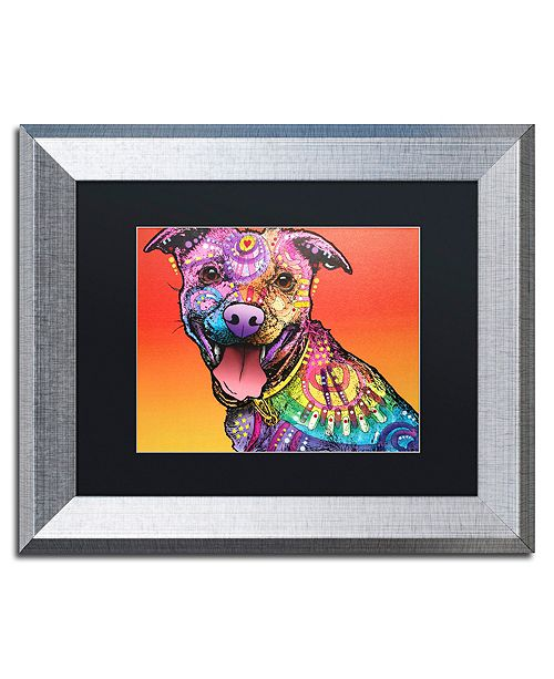 "Trademark Global Dean Russo 'All Smiles' Matted Framed Art - 11"" x 14"""