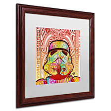 Dean Russo 'Stormtrooper' Matted Framed Art