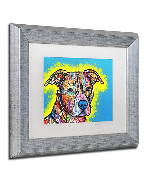 """Trademark Global Dean Russo 'Painted Pit' Matted Framed Art, 11"""" x 14"""""""