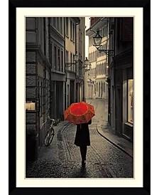 Amanti Art Red Rain Framed Art Print
