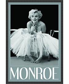Amanti Art Marilyn Monroe - Ballerina Framed Art Print