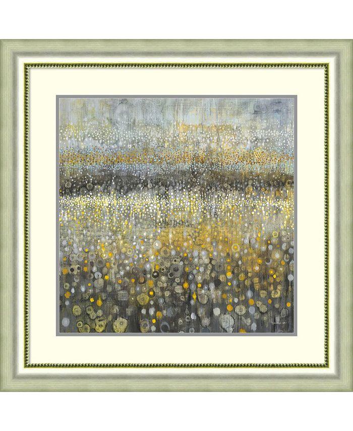 Amanti Art - Rain Abstract II 33x33 Framed Art Print
