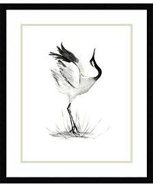 Amanti Art Japanese Cranes I Framed Art Print