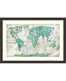 Amanti Art World  Framed Art Print