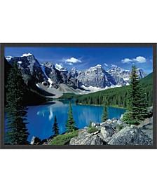 Moraine Lake, Banff- Framed Art Print