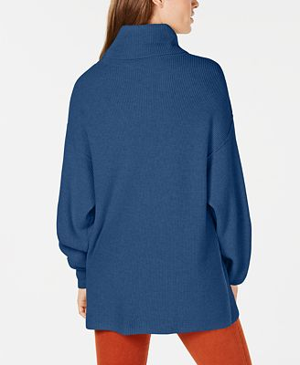 Free People Softly Structured Ribbed Turtleneck Sweaters Women